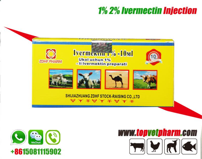 1% 2% Ivermectin Injection