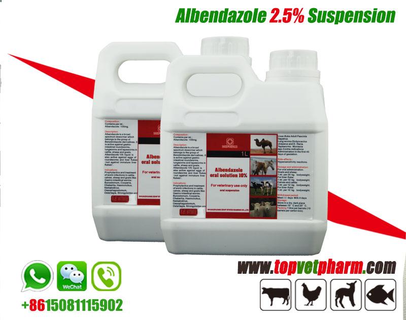 2.5% Albendazole Suspension