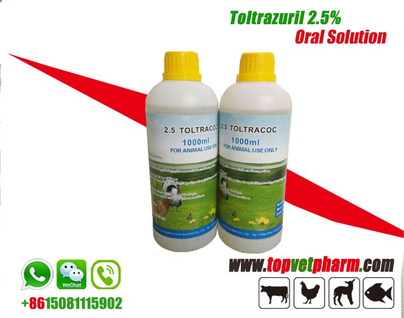 Toltrazuril 2.5% Oral Solution