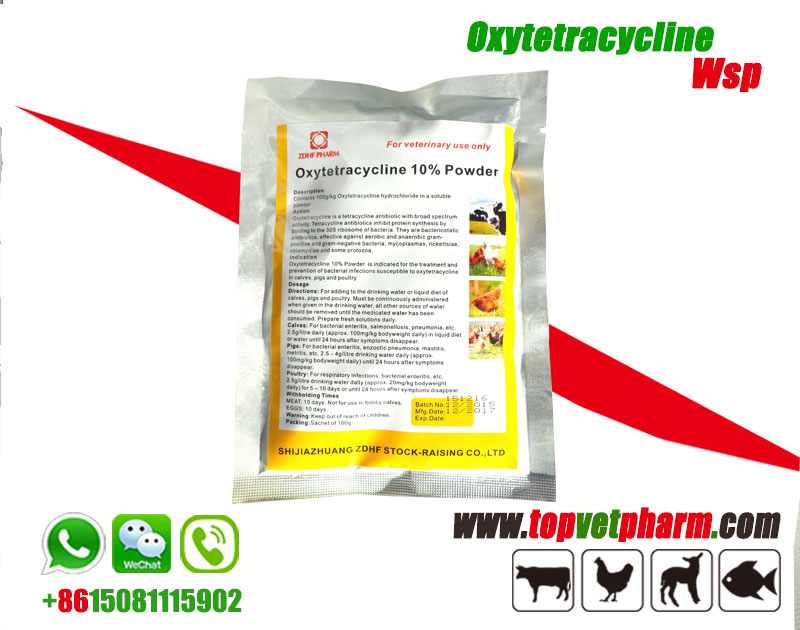 Oxytetracycline Water Soluble Powder 20%