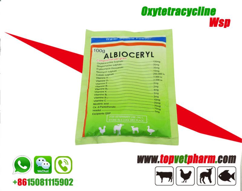 Oxytetracycline Water Soluble Powder 20%
