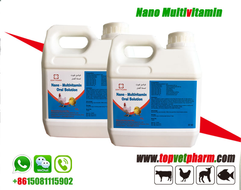 Poultry Nano Complex Nano Multivitamin Oral Solution