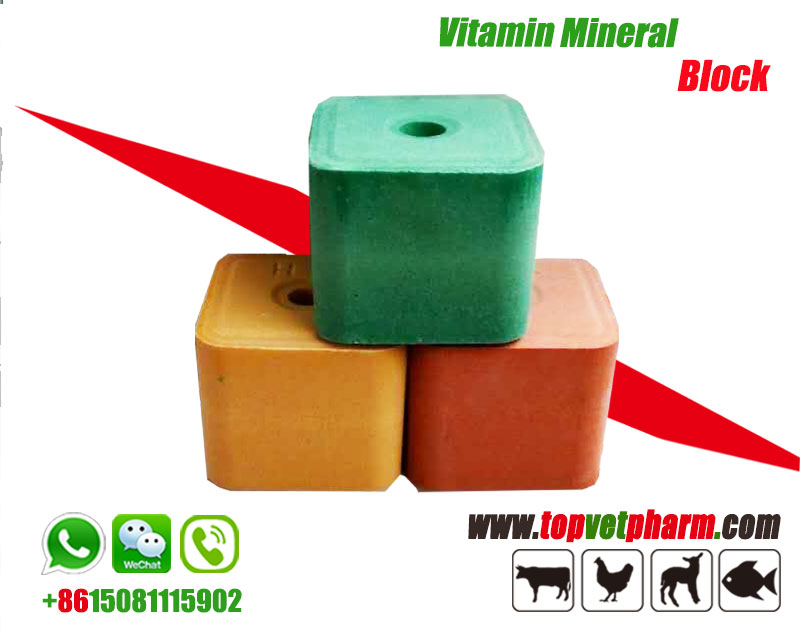 Livestock Vitamin Mineral Salt Licking Block