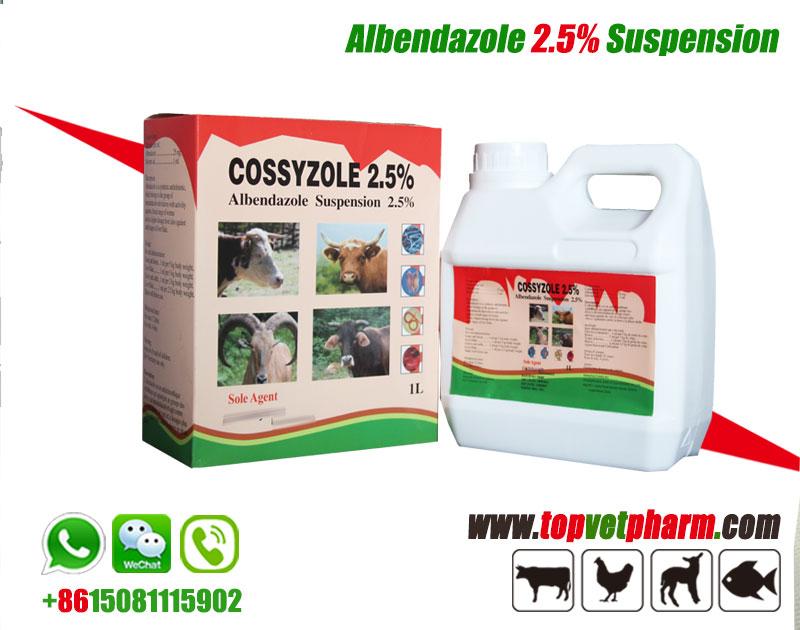 Albendazole Ivermectin Combine Suspension