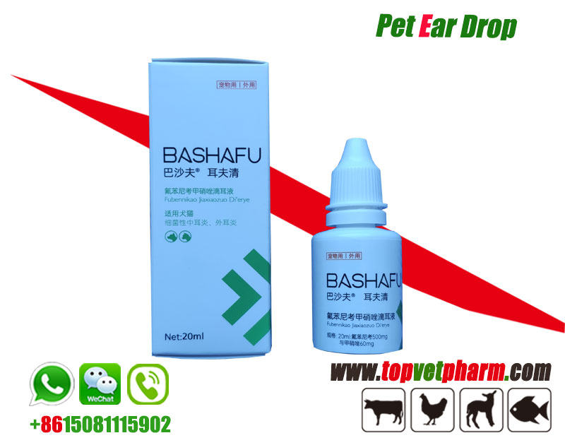 Pet Florfenicol Metronidazole Drop